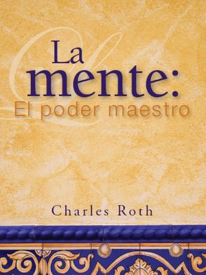 cover image of La mente